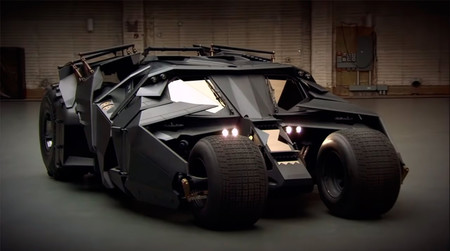 El coche de Batman de Christopher Nolan