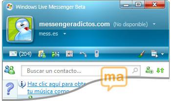 Messenger 8.5: ¿es la nueva interfaz?