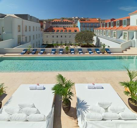 Hoteles con piscina Lisboa