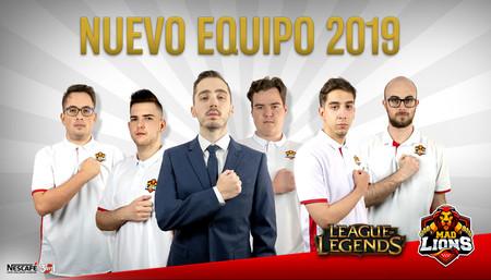 Falco y Samux vuelven a reunirse en el nuevo proyecto de MAD Lions E.C tras la marcha de cuatro de sus jugadores a equipos de LEC