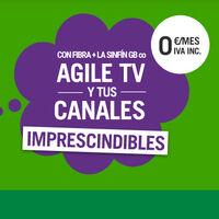 Yoigo mejora su servicio de televisión Agile TV: nuevos canales, contenido bajo demanda y gratis para algunos clientes