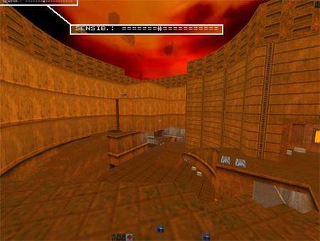 Quake II Sensibilidad