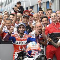 Danilo Petrucci renueva un año más con el Octo Pramac Racing