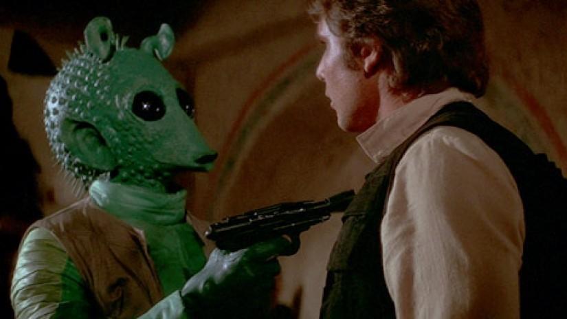 'Star Wars': el actor que interpretó a Greedo tampoco tiene ni idea de lo que significa