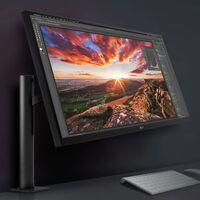 LG 27UN880-B: monitor 4K HDR con AMD FreeSync que puede colocarse casi de cualquier posición