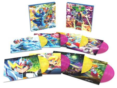 Mega Man X Vinilos