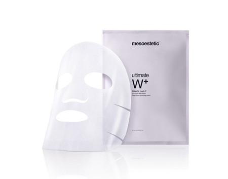 Nueva mascarilla facial ultimate W+ integrity mask de Mesoestetic
