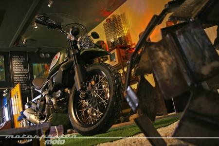 La Ducati Scrambler 1100 es casi una realidad, y abriría la veda de las retro-trail