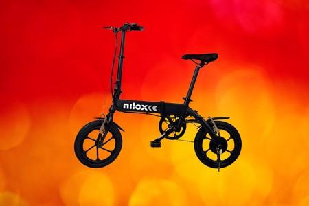 Nilox eBike X2 Plus de oferta en Amazon: múevete por la ciudad con esta compacta bici eléctrica plegable que roza los 500 euros