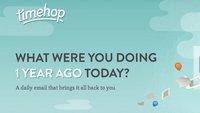 Timehop, te muestra lo que hiciste hace un año en redes sociales