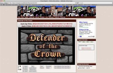 Juega a los mejores juegos del Apple II desde tu navegador