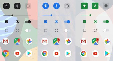 Android Q Beta 2 incluye una app para modificar el tema y aspecto del sistema