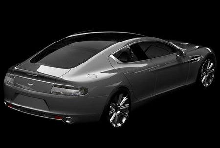 El Aston Martin Rapide nos enseña la trasera
