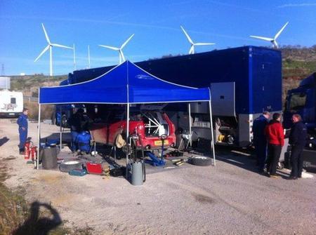 Dani Sordo comienza las pruebas del Mini Countryman WRC