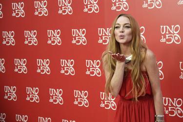 Lindsay Lohan se deja ver por Madrid con un look de lo más desafortunado
