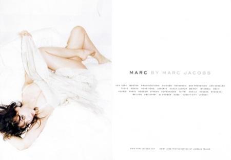 Marc by Marc Jacobs, campaña primavera-verano 2009 con Daisy Lowe