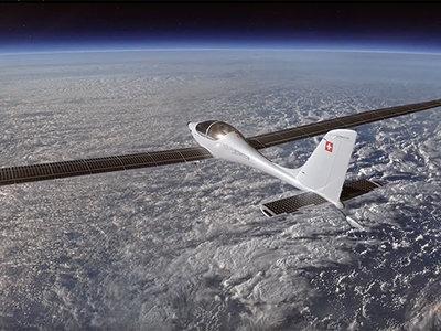 Este avión solar podría surcar la estratosfera