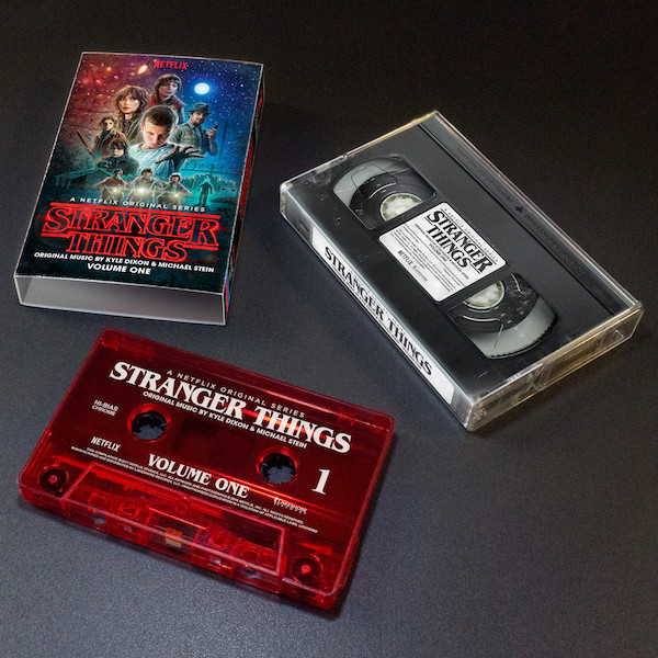 Stranger Things Cassette