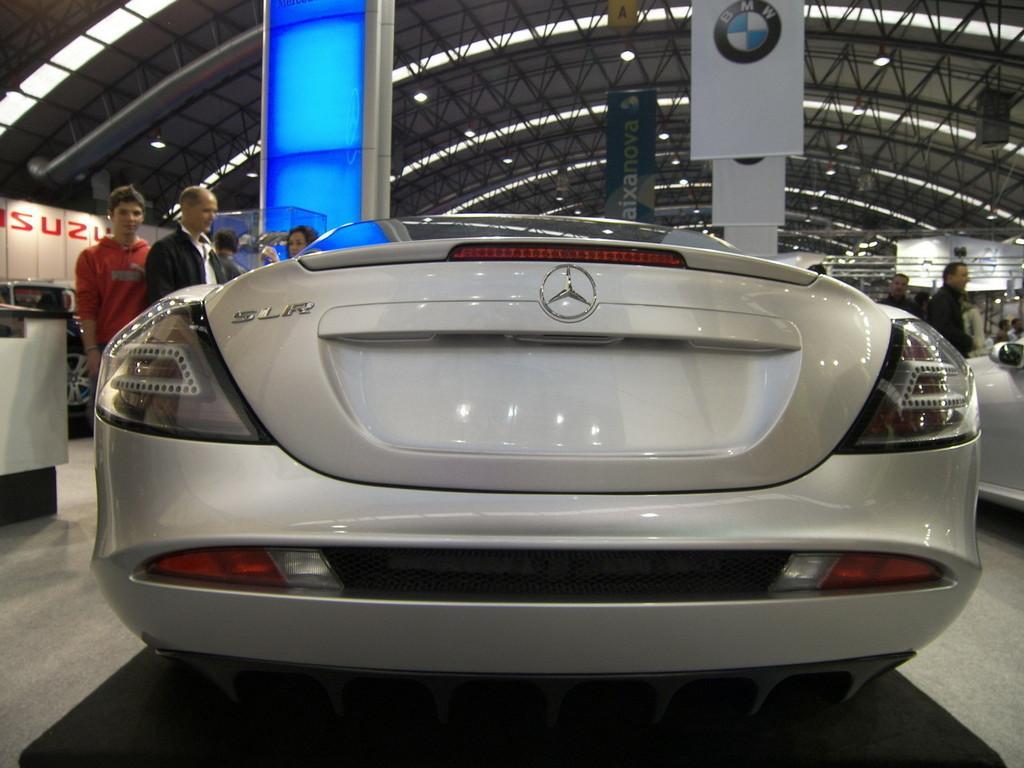 Foto de Mercedes SLR McLaren en el Salón de Vigo (8/9)