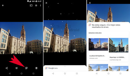 Google Lens Fotos
