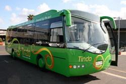 Autobús eléctrico con energía solar