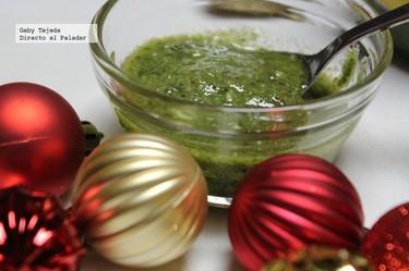 Receta de Navidad: Pesto casero de nueces