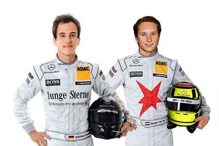 Christian Vietoris y Renger van der Zande nuevos pilotos Mercedes-Benz en el DTM