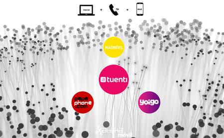 Las nuevas tarifas de Tuenti contra las del grupo MásMóvil, Pepephone y Yoigo