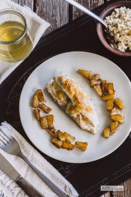 Pechugas de pollo a la Hawaiana. Receta fácil y deliciosa