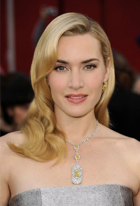 Winning Combination Kate Winslet In Tiffany Co At Oscars 2010 3