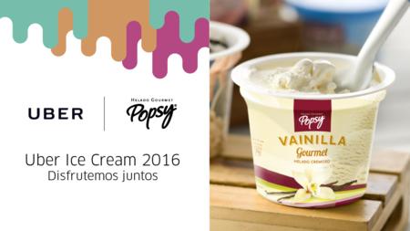 Uber Ice Cream regresa a Colombia este 15 de julio