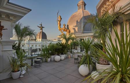 Hoteles con terrazas