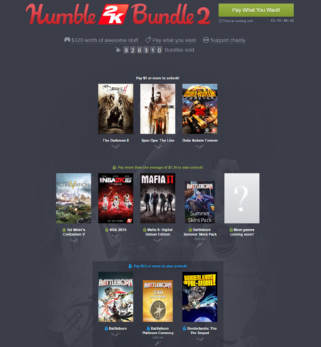Humble 2k Bundle 2