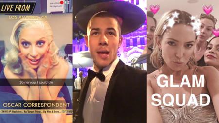 Snapchat Oscares