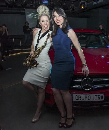 Glamour, Lujo y Acción en la presentación del nuevo Mercedes-Benz GLA en Madrid