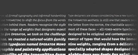 Diseñan una fuente de texto especialmente pensada para programar