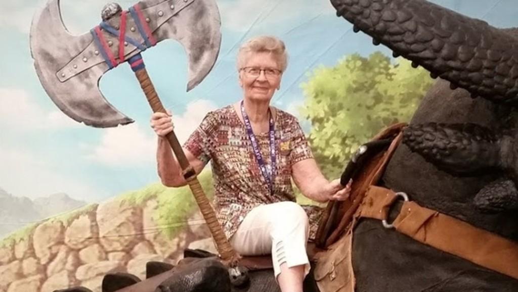 Shirley Curry, la encantadora YouTuber de 82 años, será inmortalizada como un NPC de The Elder Scrolls IV