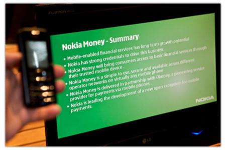 Demostración en vídeo de Nokia Money