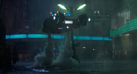 El Spinner volador de 'Blade Runner'