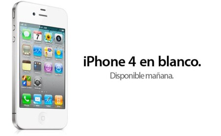 Apple confirma oficialmente el lanzamiento del iPhone 4 de color blanco