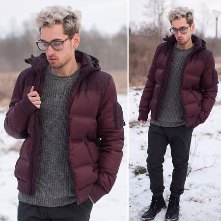 Burgundy Trends Mens Bloguers Fashion