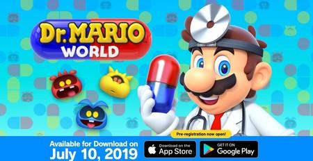 Dr. Mario World: el nuevo juego de Nintendo para smartphones llegará a México en julio, así se jugará y así te puedes preregistrar