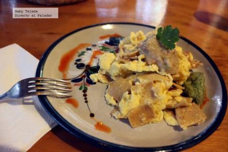 Receta: Huevos con doraditas