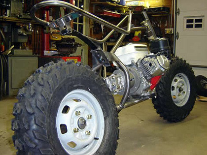 Racoon 2WD moto Hydraulic innovations