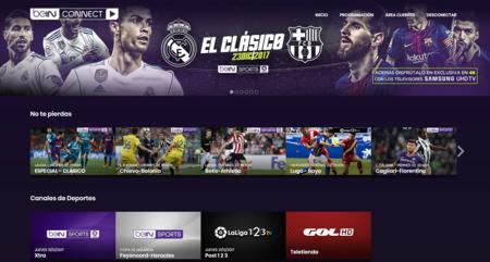 """beIN CONNECT y Samsung ofrecerán el """"clásico"""" de La Liga en 4K UHD en los Smart TV compatibles de Samsung"""
