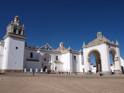 La Basílica de Nuestra Señora de Copacabana, en Bolivia