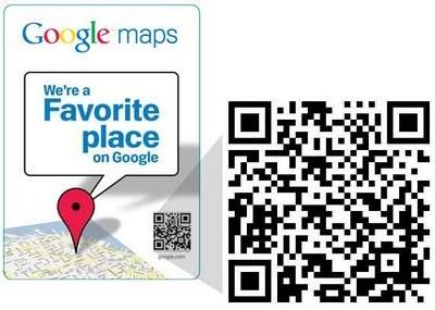 QR para los Favorite Places de Google, tu móvil es todo lo que necesitas