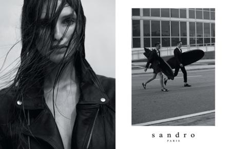 Surfistas de ciudad, cuero en el mar, Sandro en primavera