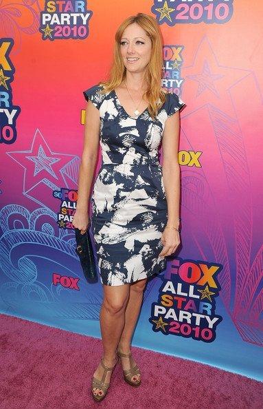 Look fiesta veraniega de Fox 2010 TCA. Judy Greer