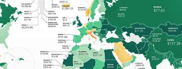 El coste de abrir un negocio en cada país del mundo, explicado en estos mapas